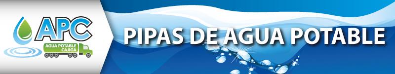 agua potable en pipas